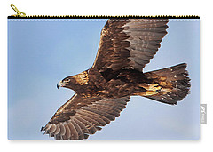 Golden Eagle Flight Carry-all Pouch