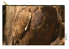 Golden Eagle Carry-all Pouch by Sean Griffin