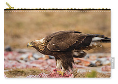 Golden Eagle's Profile Carry-all Pouch by Torbjorn Swenelius
