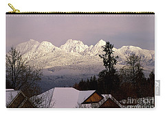 Carry-all Pouch featuring the photograph Golden Ears Mountain View by Sharon Talson