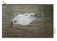 Golden Flight Carry-all Pouch by Fraida Gutovich