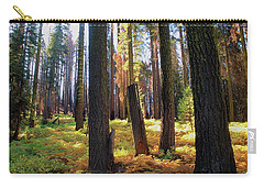 Golden Forest Bed Carry-all Pouch
