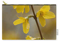 Golden Forsythia Carry-all Pouch
