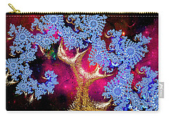Golden Fractal Tree Carry-all Pouch