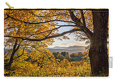 Vermont Framed In Gold Carry-all Pouch