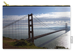 Carry-all Pouch featuring the photograph Golden Gate Bridge-2 by Steven Spak