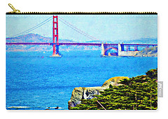 Golden Gate Bridge From The Coastal Trail Carry-all Pouch