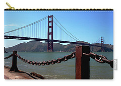 Carry-all Pouch featuring the photograph Golden Gate Bridge by Ivete Basso Photography