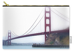 Golden Gate Bridge Carry-all Pouch by Laura DAddona