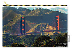Carry-all Pouch featuring the photograph Golden Gate Bridge by Steven Spak