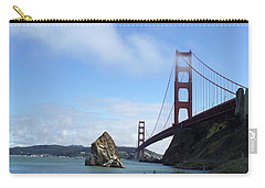 Carry-all Pouch featuring the photograph Golden Gate Bridge by Sumoflam Photography