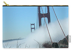 Golden Gate Bridge Towers In The Fog Carry-all Pouch