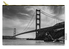 Golden Gate East Bw Carry-all Pouch