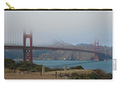 Golden Gate In The Clouds Carry-all Pouch