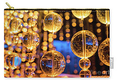 Golden Glass Bubbles Carry-all Pouch