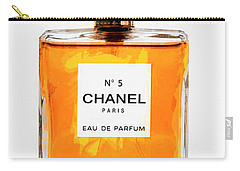 Golden Glow Of Chanel No. 5 Carry-all Pouch by Daniel Hagerman