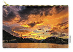 Golden Glow Sunset At Summit Cove Carry-all Pouch
