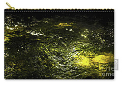 Carry-all Pouch featuring the photograph Golden Glow by Tatsuya Atarashi