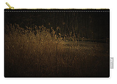 Carry-all Pouch featuring the photograph Golden Grass by Ryan Photography