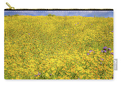 Carry-all Pouch featuring the photograph Golden Hillside by Marc Crumpler