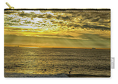 Golden Hour At Seal Beach Carry-all Pouch