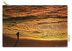 Golden Hour-beach Walk  Carry-all Pouch