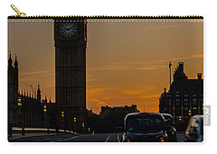 Golden Hour Big Ben In London Carry-all Pouch