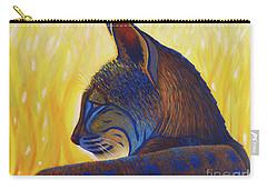 Golden Hour Bobcat Carry-all Pouch