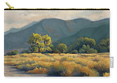 Golden Hour In Owen's Valley Carry-all Pouch