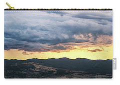 Golden Hour In Volterra Carry-all Pouch