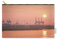 Golden Hour On The Elbe Carry-all Pouch