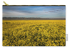 Golden Hour On The Plain Carry-all Pouch