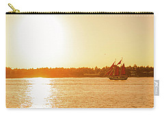 Golden Hour Sailing Ship Carry-all Pouch
