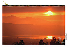 Carry-all Pouch featuring the photograph Golden Hour by Tatsuya Atarashi