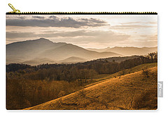 Grandfather Mountain Sunset - Moses Cone Blue Ridge Parkway Carry-all Pouch