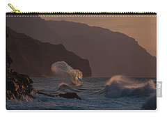 Golden Hour Wave Carry-all Pouch