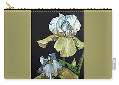 Golden Iris Carry-all Pouch