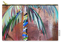 Golden Jasper Palm Carry-all Pouch by Kristen Abrahamson