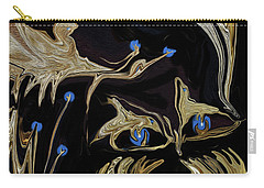 Golden Lady And The Owl Carry-all Pouch