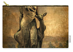 Golden Lady Carry-all Pouch by Jessica Jenney