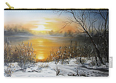 Golden Lake Sunrise  Carry-all Pouch