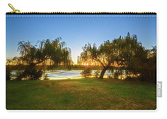 Carry-all Pouch featuring the photograph Golden Lake, Yanchep National Park by Dave Catley