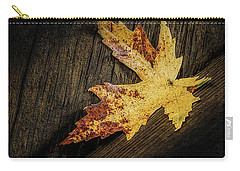 Golden Leaf Carry-all Pouch