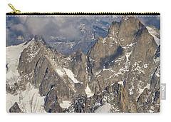 Golden Light At Aiguille Du Midi Carry-all Pouch