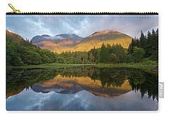 Golden Light At The Torren Lochan Carry-all Pouch