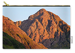Golden Light Hits Bidean Nam Bian Carry-all Pouch by Stephen Taylor