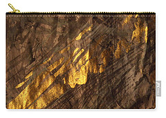 Carry-all Pouch featuring the painting Golden Light by Nancy Kane Chapman