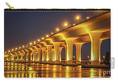 Golden Light Reflection Carry-all Pouch by Tom Claud