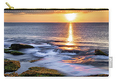Golden Light Sunset, Rockport  Ma. Carry-all Pouch