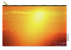Carry-all Pouch featuring the photograph Golden Light by Tatsuya Atarashi